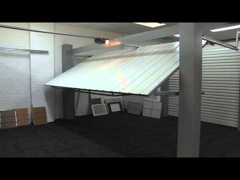Automatic Tilt Garage Door Demonstration