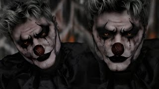 Clown Halloween Costume Makeup Tutorial