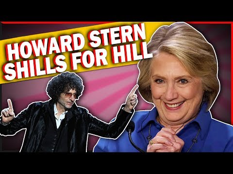 Howard Stern Props Up Hillary Clinton! Does This Mean She's Running?