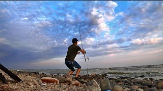 Рыбалка на море Тарань на фидер донку Азовское море Ейск