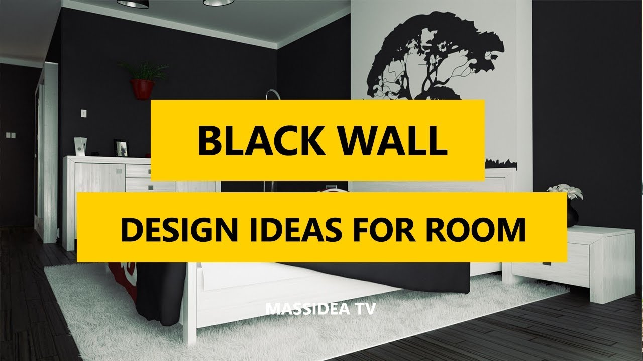 45+ Best Elegant Black Wall Design Ideas for Modern Room 2017 - YouTube