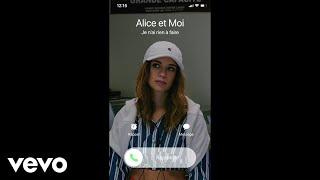 Смотреть клип Alice Et Moi - Je N'Ai Rien À Faire