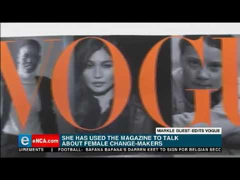 Markle Guest Edits Vogue Magazine