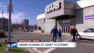 Sears to close 72 stores because of low profit