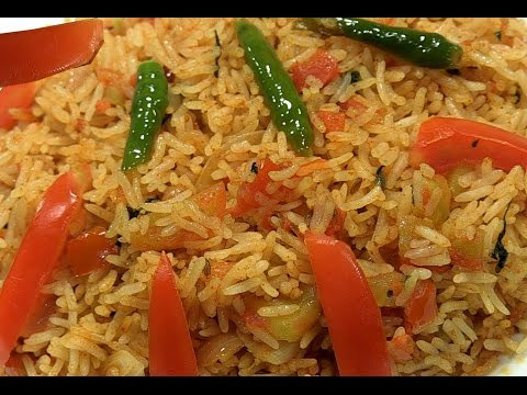 How to make TOMATO RICE Recepe Step by Step in Telugu