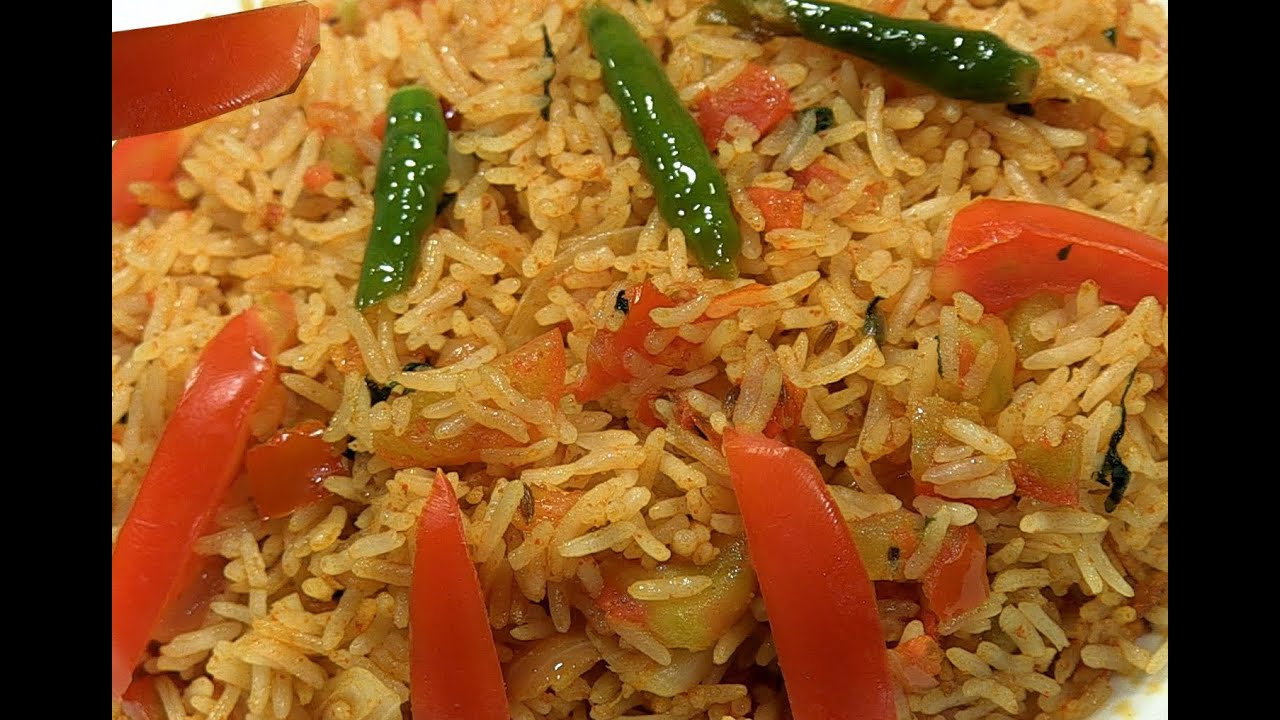 How to make tomato rice recepe step by step in telugu youtube ccuart Image collections