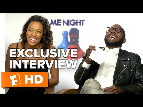 Making Memes with the Cast and Directors - Game Night (2018) Interview | All Access