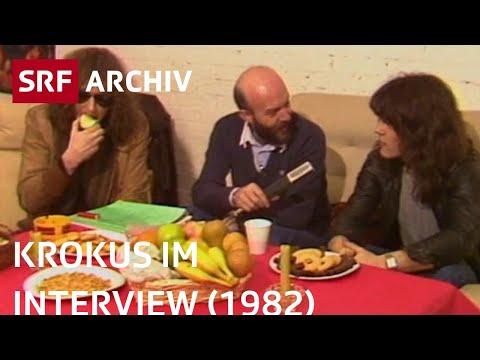 Krokus-Interview mit Chris von Rohr und Freddy Steady (1982)