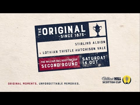 Stirling Albion 3-5 Lothian Thistle HV | William Hill Scottish Cup 2017-18 – Second Round
