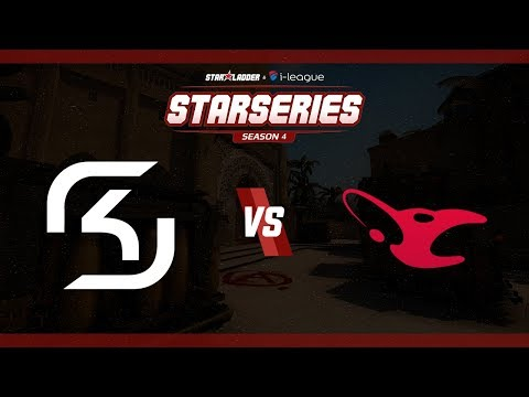 StarSeries i-League S4 - SK vs. mousesports (Mapa 1 - Mirage) - Narração PT-BR