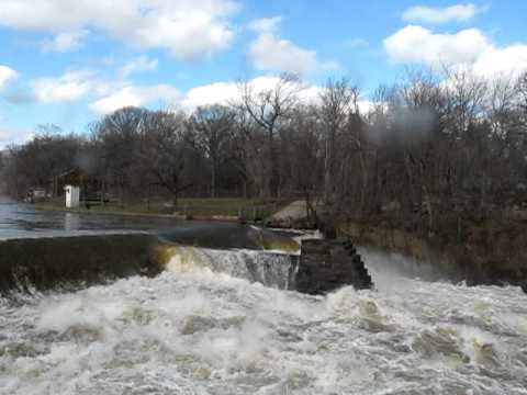 passaic river flood little falls n j 3 11 11 waterfalls behind the mill youtube passaic river flood little falls n j 3 11 11 waterfalls behind the mill