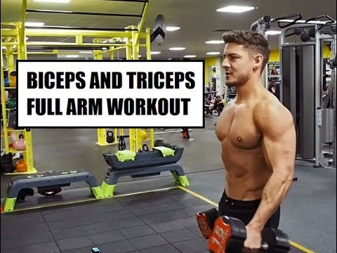 FULL ARM WORKOUT - BICEPS AND TRICEPS | DAN TOMMO