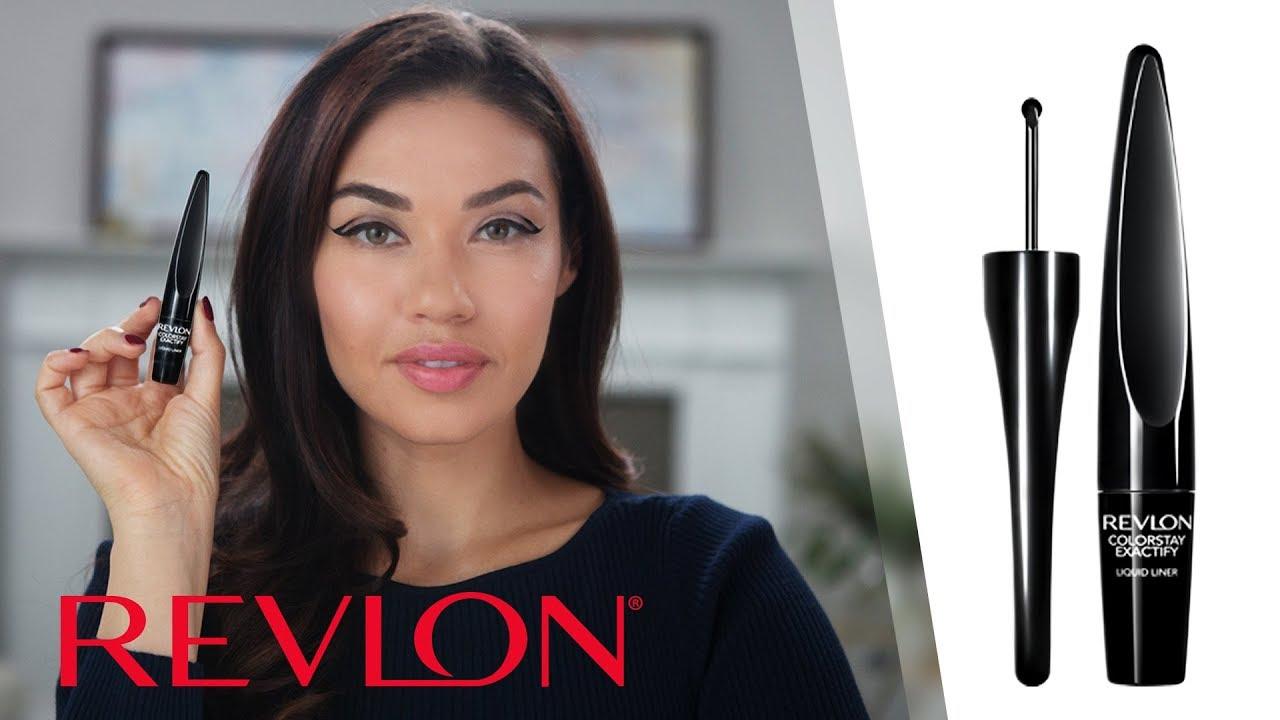 Unboxing the New Revlon ColorStay Exactify™ Liquid Liner Feat. Eman  Revlon