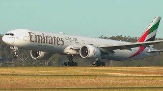 Emirates B777-300 Karachi to Dubai full flight
