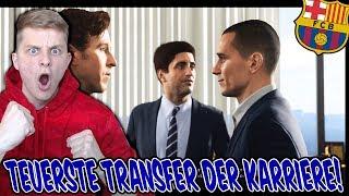 Der teuerste TRANSFER! 115 MIO Euro für GRIEZMANN! ⚽ Fifa 18 Karrieremodus Fc Barcelona 02