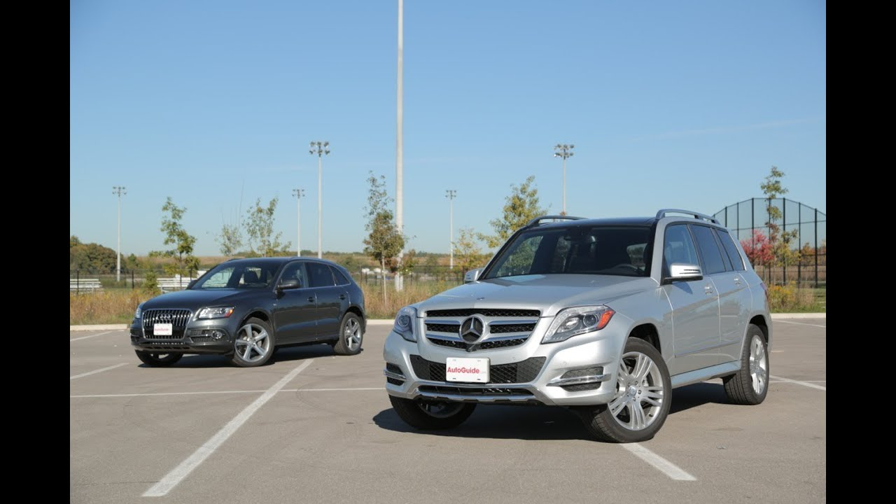 2014 Mercedes-Benz GLK 250 BlueTEC vs. 2014 Audi Q5 TDI - YouTube