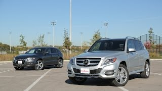 2014 Mercedes-Benz GLK 250 BlueTEC vs. 2014 Audi Q5 TDI