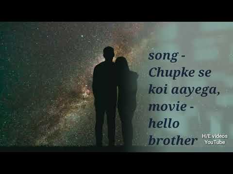 Chupke se koi aayega song with lyrics by h/e videos