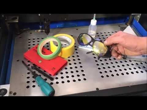 Laser Cutter Mirror Alignment