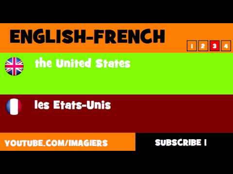 FROM ENGLISH TO FRENCH = the United States