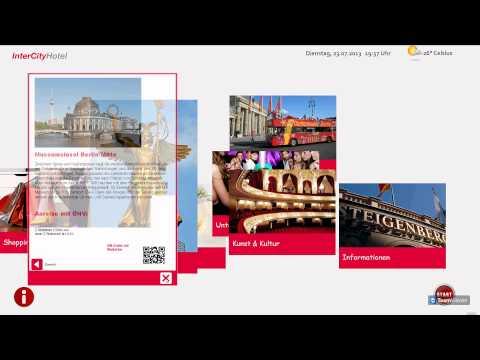 Virtueller Concierge - hier: Intercity Hotel Berlin Hauptbahnhof