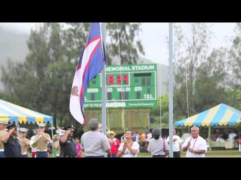 2016 American Samoa Flag Raising Ceremony  YouTube