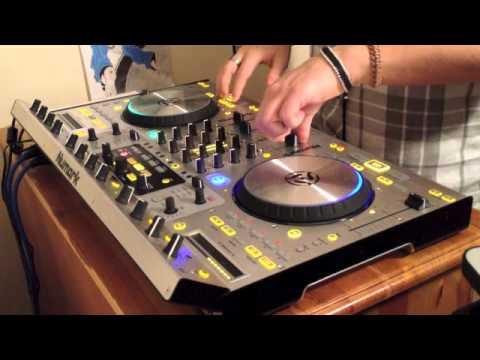 Numark 4Trak House-Dubstep Mix Feb 2013