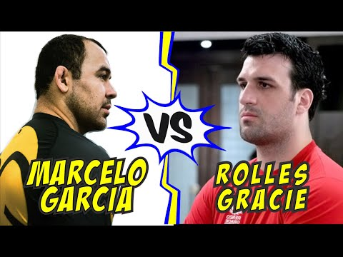 MARCELO GARCIA vs ROLLES GRACIE ADCC 2007 Absolute Division 1/4 Finals