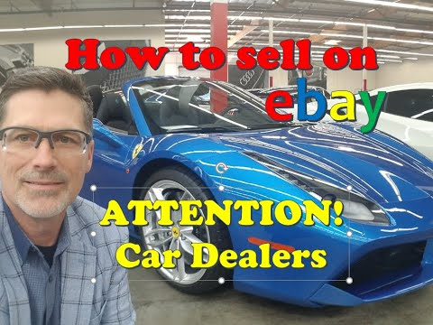 Ebay Selling Cars Trucks Auction Default Settings In Vmp Youtube