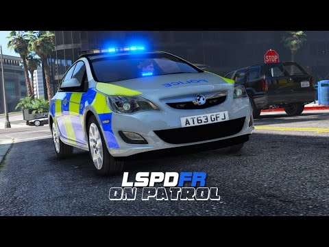 LSPDFR - Day 260 - British Policing Script (Live Stream)