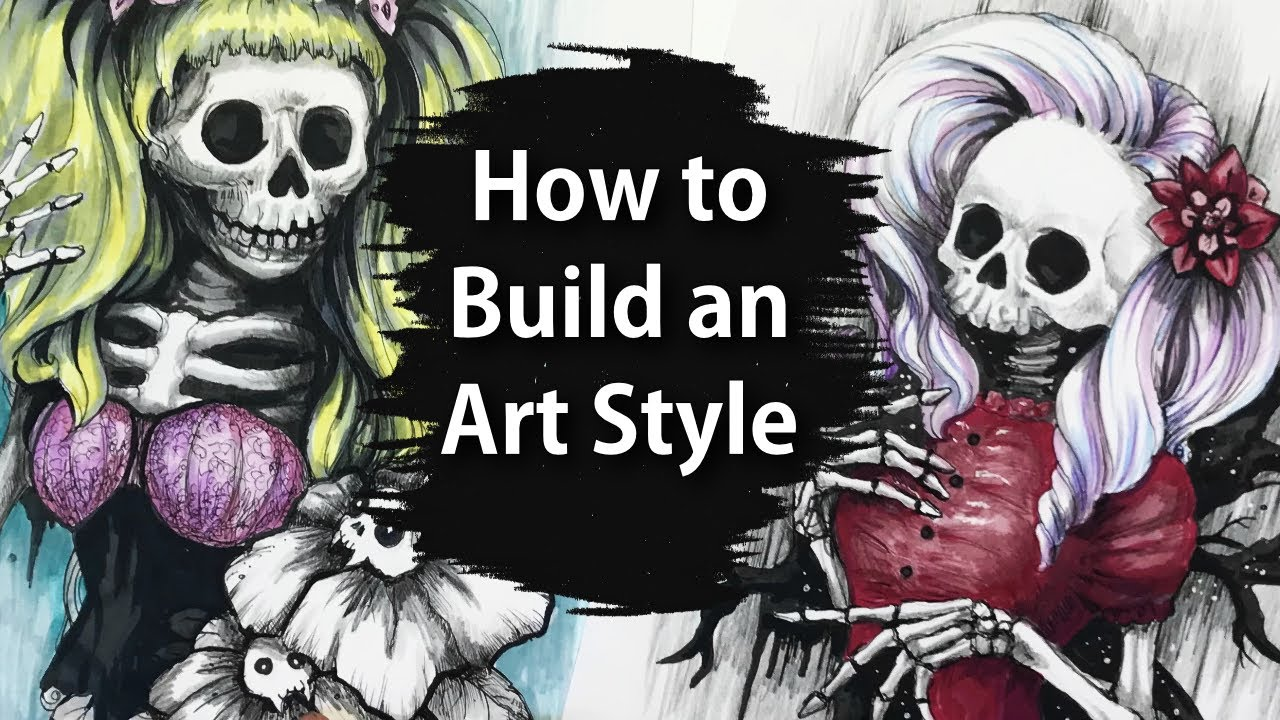 Video - How I Develop My Art Style
