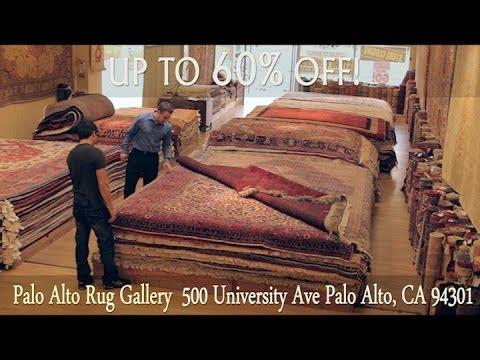 Palo Alto Rug Gallery - Location Closing Sale - Palo Alto - Bay Area Business Profile TV Commercial