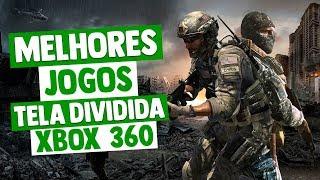 MELHORES JOGOS COM TELA DIVIDIDA DO XBOX 360