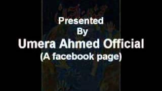 OST Thora sa aasman(Ptv) Umera Ahmed
