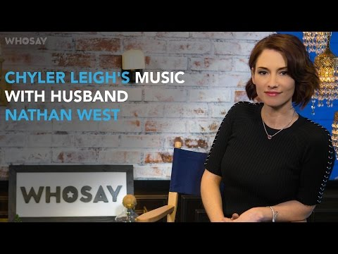 Chyler Leigh Debuts as a Singer on Husband's Nathan West's Song 'Nowhere' | WHOSAY