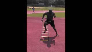 Agility Ladder Training-  Heisman Drill
