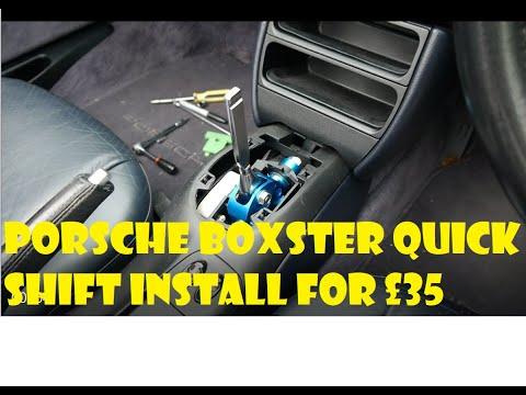 DIY install – Porsche Boxster 986  Quick Shift gear – Vintage Steel Garage Ep 35