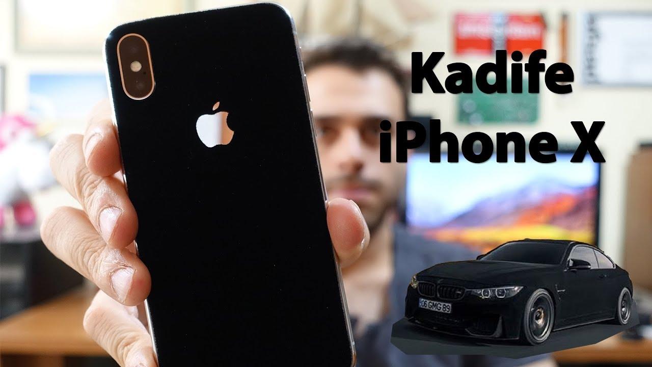iPhone X Velvet Kaplama