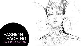 How to draw faces in fashion illustration Thumbnail