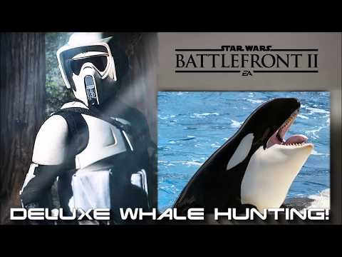DELUXE WHALE HUNTING In STAR WARS BATTLEFRONT II