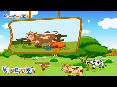 Bé Yêu Động Vật - Con Bò