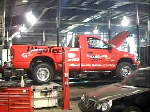 Wyo Tech Blairsville Pullin Truck 1