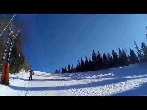 Лыжи 2к17 Наночеловек, я приехал.