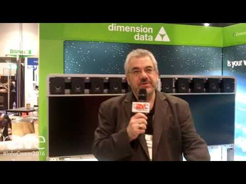 InfoComm 2016: Dimension Data Gives rAVe a Sneak Peek of Its InfoComm 2016 Booth
