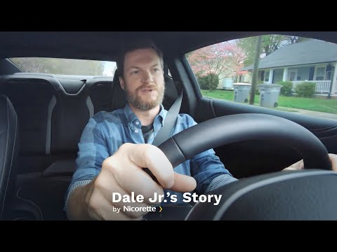 Dale Earnhardt Jr. Tells His Story About Quitting Smoking   Nicorette