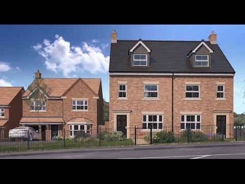 Miller Homes - City Fields, Wakefield, Yorkshire CGI Development Tour