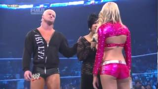 "[WWE]Smackdown - Vickie/Dolph Ziggler""LayCool"" vs KellyKelly ""Edge"" - Segment.mp4"