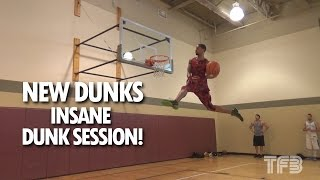 """6'3"""" Guy Dupuy Nails some NEW DUNKS in this SICK DUNK SESSION! Video"""