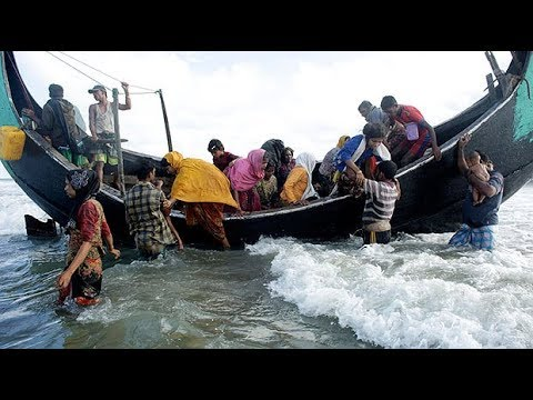 Rohingya refugees make dangerous voyages to escape Burma violence