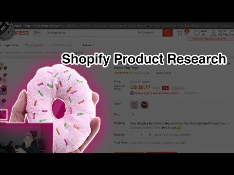 SHOPIFY PRODUCT RESEARCH HACK (250 / Day Products)